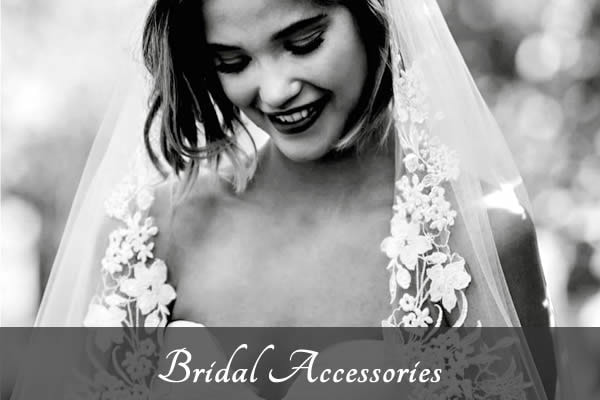 Bridal accessories by Victoria Louise.